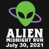 Alien Midnight Run - 13.1, 10K, 5K