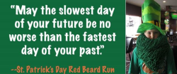 The rescheduled Red Beard Run 2020 (St. Patrick's Day & Octoberfest all in one)