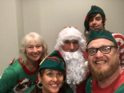Scuba Santa Picture Event