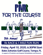 5th Annual PARR for the Course 5K Race & 1 Mile Fun Run