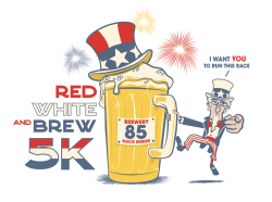 Red White & Brew 5k