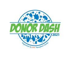 UVA Donor Dash 4 Mile Run/Walk & Transplant Trek 1 Mile Fun Walk (Virtual)