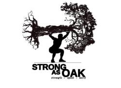 STRONG AS OAK TEAM WRECK BAG 5K-ISH IV
