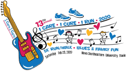 13th Annual 5K Run/Walk, Color Run, Family Fun Day & Blues Concert featuring Joey Gilmore