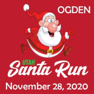 Utah Santa Run - Ogden
