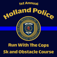 Run with The Cops 5K and Obstacle Course