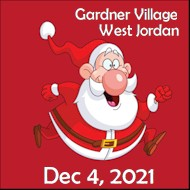 Utah Santa Run - Gardner Village