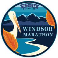 Windsor Marathon 26.2, 13.1, Heavy 10K