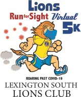 Lions Run for Sight VIRTUAL 5K Logo