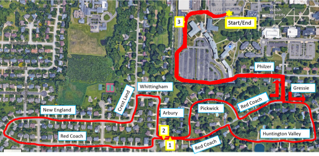 Walsh Campus Map.Fit Family 5k And Fun Run