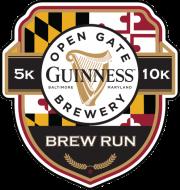 Guinness Open Gate Brew Run Logo
