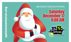 UpTown Toledo's 5K Santa Race