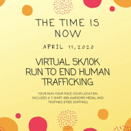 Virtual Run To End Human Trafficking