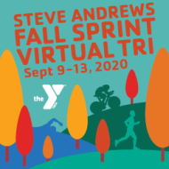 Steve Andrews Virtual Fall Sprint Triathlon