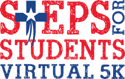 Steps for Students 5K Logo