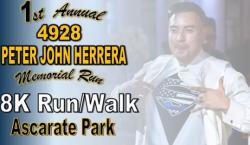 1st Annual 4928 Peter John Herrera Memorial Virtual 5K Run / Walk