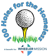 100 Holes for the Homeless Logo