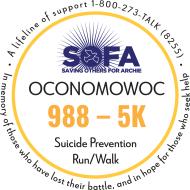 988-5K Suicide Prevention Walk/Run