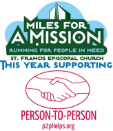 9th Annual Miles for a Mission 5K Run/Walk - Virtual ONLY - benefiting Person-to-Person