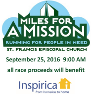 4th Annual Miles for a Mission 5K Run/Walk