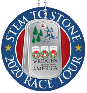 Wreaths Across America Stem to Stone 2020 Race Tour MAINE
