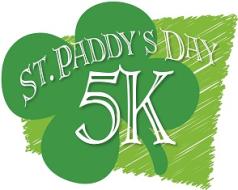13th Annual St. Patrick's Day 5k, 1m Fun Run