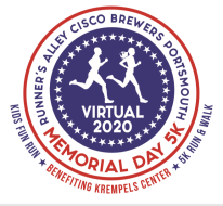Runner's Alley Cisco Brewers Portsmouth Memorial Day 5K - NOW VIRTUAL!