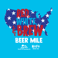 Red, White & Brew Beer Mile