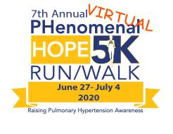 7th Annual PHenomenal Hope 5K (Virtual)