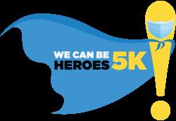 We Can Be Heroes Virtual Run/Walk/Ride