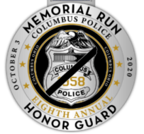 Columbus Division of Police Honor Guard Virtual 5k Memorial Walk/Run & 1 Mile Kids Fun Run