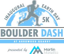 Martin Marietta's Earth Day Boulder Dash 5K