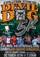 Devil Dog 5K Run/walk