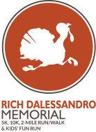 Rich Dalessandro Memorial Fall Turkey 5K, 10K, 2 Mile Run/Walk, & Kids' Fun Run