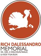 Rich Dalessandro Memorial Fall Turkey 5K, 10K, 2 Mile Run/Walk, & Kids' Fun Run