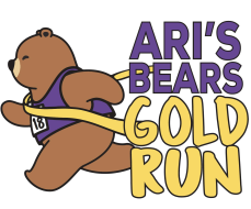 Ari's Bears Virtual Gold Run 5K Run/Walk and 1 Mile Walk