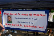 Bryon Martini Jr. 5k Memorial Run/Walk
