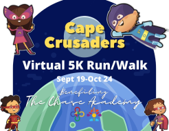 The Chase Academy's 2nd Annual VIRTUAL 5K Run & Walk