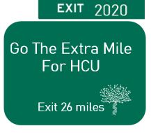 Go The Extra Mile for HCU