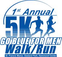 Go Blue for Men 5K & 1 Mile Walk/Run