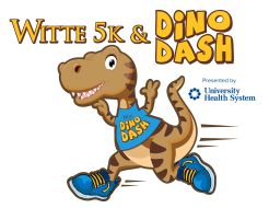 Witte 5K and Dino Dash Presented by University Health System