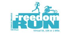 Stepping Stones for Stella Virtual Freedom Run/Walk
