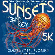 Sunsets at Sand Key Beach Series