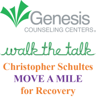 "Genesis Centers: Walk the Talk, the Christopher Schultes Virtual ""Move a Mile"" for Recovery"
