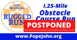 POSTPONED -- 2020 Pope John Lions Rugged Run