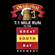 OktoberFest 7.1 Mile Run to the Great South Bay Brewery