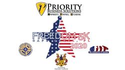Priority Business Solutions Freedom 5K Run/Walk & Gunterberg Charitable Foundation Kid's Fun Run - Virtual through Veteran's Day!