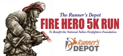 Runner's Depot FIRE HERO 5K Run & Fitness Walk