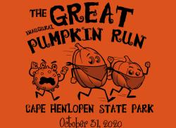 Inaugural Great Pumpkin Run at Cape Henlopen State Park