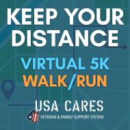 USA Cares Keep Your Distance 5K Run/Walk